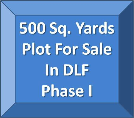 500 Sq. Yds Plot for Sale in DLF Phase 1, Gurgaon