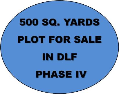 500 Sq Yard Plot For Sale In Dlf Phase IV, Gugraon