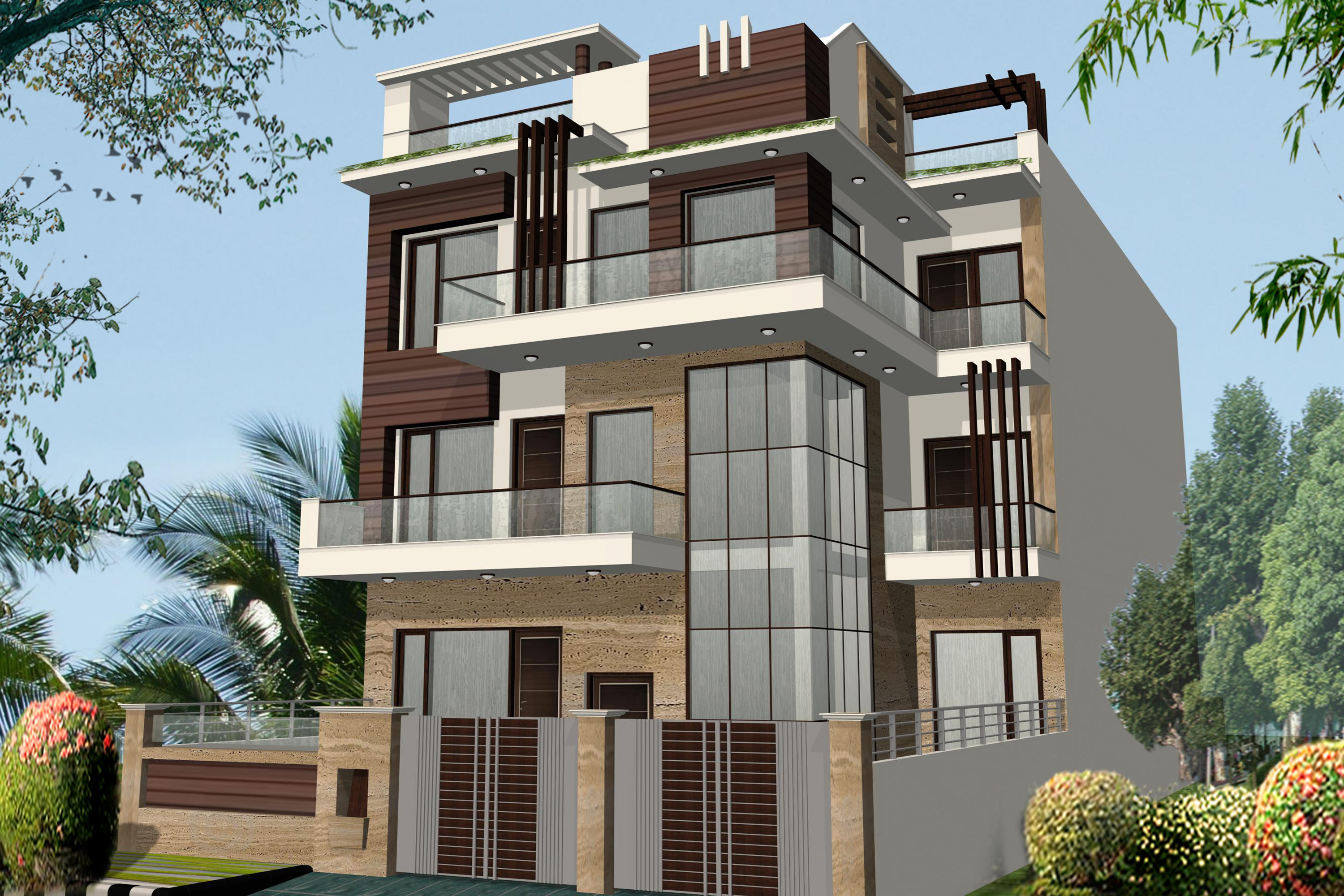 4 BHK Builder Floor (with Terrace Garden)
